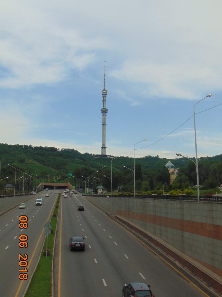 Zdjęcia: Panorama Kok Tobe, Almaty, Nowoczzesnosc na jedwabnym szlaku, KAZACHSTAN