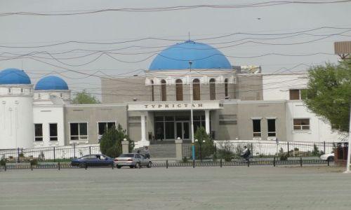 Zdjęcie KAZACHSTAN / Turkistan / Turkistan / Zakablowany Turkistan