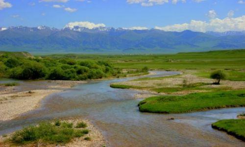 Zdjecie KAZACHSTAN / Kazachstan  / Kazachstan  / Graniczna rzeka