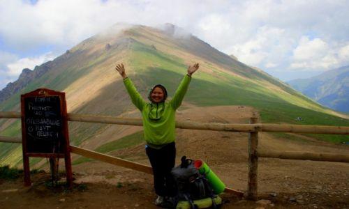 Zdjęcie KAZACHSTAN / Medeo / Medeo / Była  na szczycie