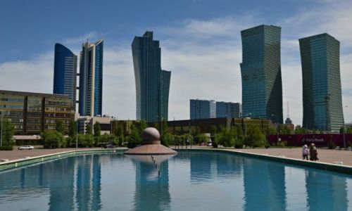 Zdjecie KAZACHSTAN / CENTRUM / ASTANA / KAZACHSTAN-ASTA