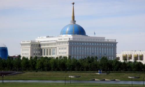 Zdjęcie KAZACHSTAN / Azja Centralna / Astana / Pałac