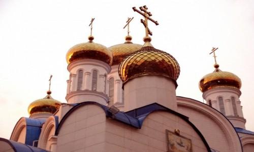 Zdjęcie KAZACHSTAN / Azja Centralna / Astana / Sobór Zaśnięcia Matki Bożej
