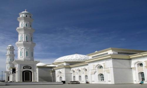 Zdjęcie KAZACHSTAN / ASTANA / Chazriet - Meczet Sułtana / Nowy wymiar tradycji2