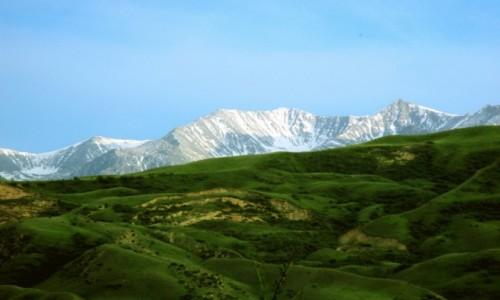 Zdjęcie KAZACHSTAN / Południowy-wschód / Tienszan, jeziora Kolsai / Tak blisko i tak daleko zarazem