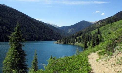KAZACHSTAN / Południowy-wschód / Tienszan, jeziora Kolsai / Kazachskie