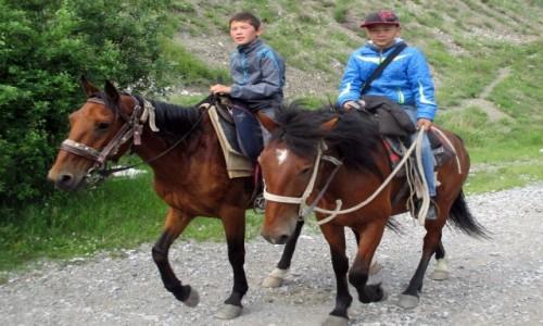 Zdjęcie KAZACHSTAN / Południowy-wschód / Tienszan, jeziora Kolsai / Szabandozy