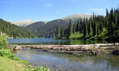 Zdjęcie KAZACHSTAN / Południowy-wschód / Tienszan, jeziora Kolsai / 2500 mnpm