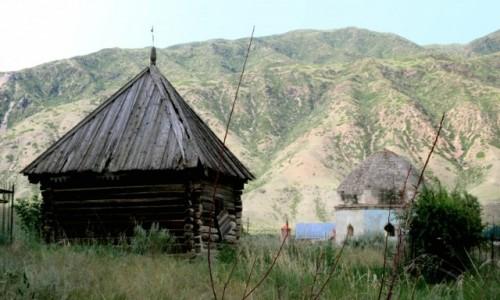 KAZACHSTAN / Południowy-wschód / Okolice wsi Saty / Zirat
