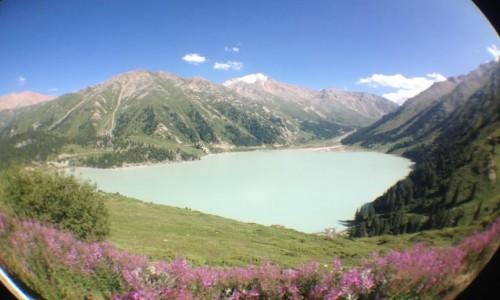 Zdjecie KAZACHSTAN / - / Big Almaty Lake  / Kazachstan/Kirgistan