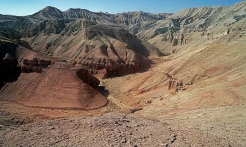 Zdjęcie KAZACHSTAN / płd. Kazachstan, Ałmatynska obłast / Alatau / Grobowce dinozaurów...