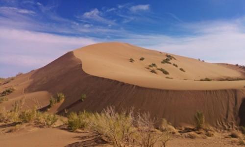 Zdjecie KAZACHSTAN / Altyn-Emel National Park  / Singing Dune / Singing Dune