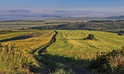 Zdjecie KAZACHSTAN / obwód wschodniokazachstański / ok. wsi Biełousow / Jak dobrze wstać skoro świt.... ;)