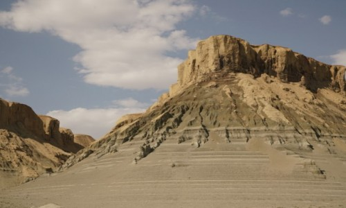 KAZACHSTAN / obwód kyzyłordyński / dawne dno j. Aralskiego / Tu też kiedyś była woda...