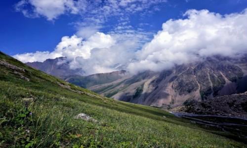 KAZACHSTAN / Tien Szan / pasmo górskie Ałatau Zailijski / Dolina Lewego Talgaru