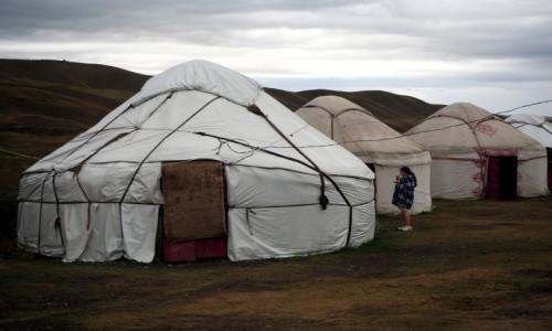 Zdjecie KAZACHSTAN / płd.-wsch. Kazachstan /  Park Narodowy Kolsay Lakes / Jurty