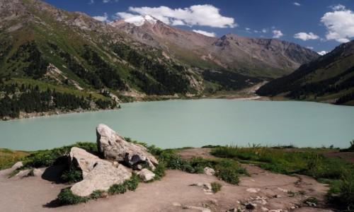 Zdjęcie KAZACHSTAN / płd.-wsch. Kazachstan / Park Narodowy Ile-Alatau / Big Almaty Lake