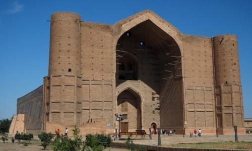 Zdjęcie KAZACHSTAN / płd.Kazachstan / Turkiestan / Mauzoleum Chodży Ahmada Jasawi