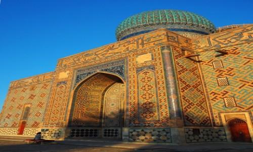 Zdjęcie KAZACHSTAN / płd. Kazachstan / Turkiestan / Mauzoleum Chodży Ahmada Jasawiego