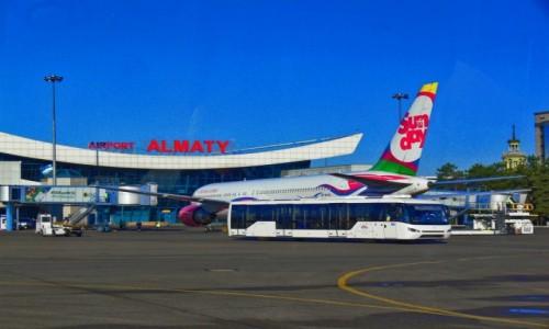 KAZACHSTAN / Almaty / lotnisko / Almaty