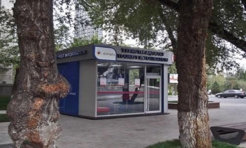 Zdjecie KAZACHSTAN / Almaty / Centrum / Informacja