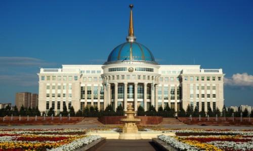 KAZACHSTAN / płn. Kazachstan / Astana / Pałac prezydencki