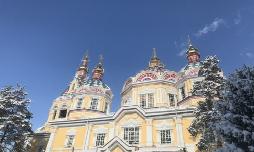 Zdjecie KAZACHSTAN / Kazachstan / Almaty / Katedra Zenkow