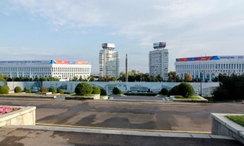 Zdjecie KAZACHSTAN / - / Ałma-Ata / Radziecki modernizm