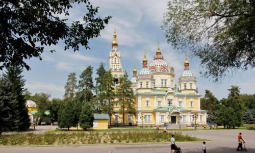 Zdjecie KAZACHSTAN / - / Ałma-Ata / Sobór Wniebowstąpienia Pańskiego