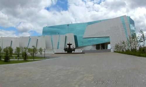 Zdjecie KAZACHSTAN / Astana / Centrum Astany / Nowoczesnosc i historia