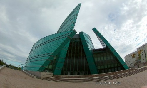 Zdjecie KAZACHSTAN / Astana / Centrum Astany / Nowoczesna Architektura