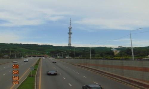 Zdjecie KAZACHSTAN / Almaty / Panorama Kok Tobe / Nowoczzesnosc na jedwabnym szlaku