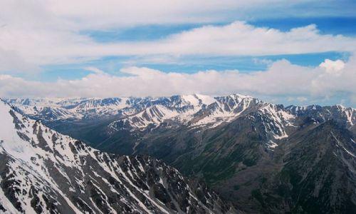 Zdjecie KAZACHSTAN / Ałmaty / Turistov Pass / z Piku (pika?) Turisty (3930m)