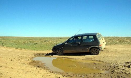Zdjęcie KAZACHSTAN / brak / Makat / 386 km drogi bez drogi