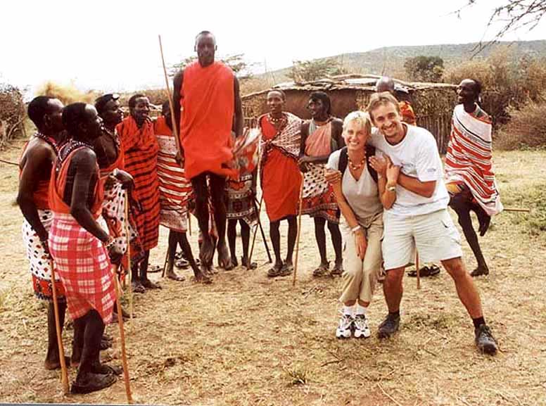 Zdjęcia: Wioska Masjów, Masai Mara, Kenia, KENIA