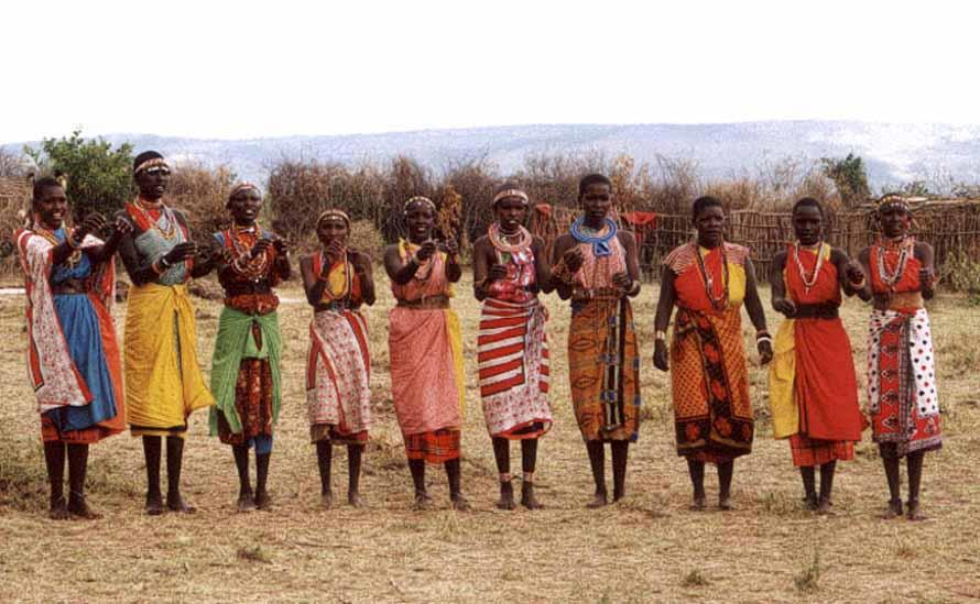 Zdjęcia: Wioska MAsajów, Masai Mara, Panny na Wydaniu, KENIA
