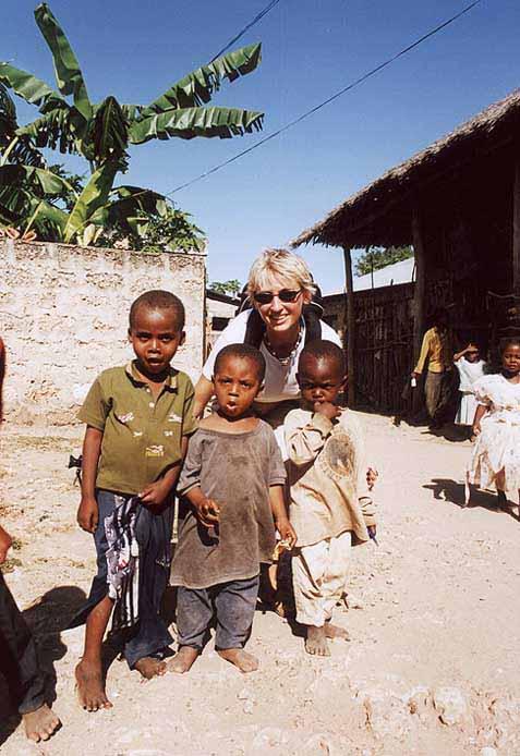 Zdjęcia: WIOSKA, SOUD COAST, TRZECH MODELI, KENIA