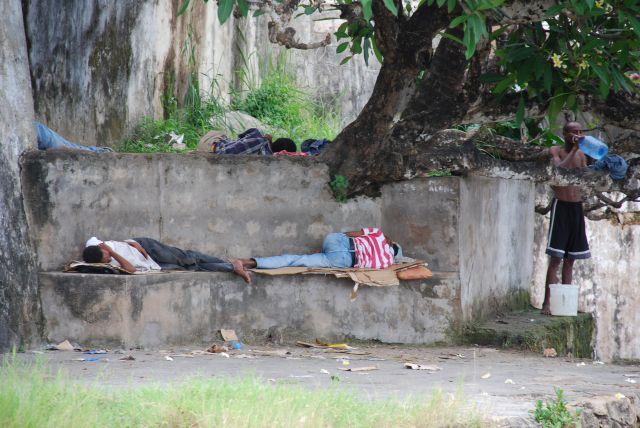 Zdjęcia: STARE MIASTO MOMBASA, BEZDOMNI, KENIA