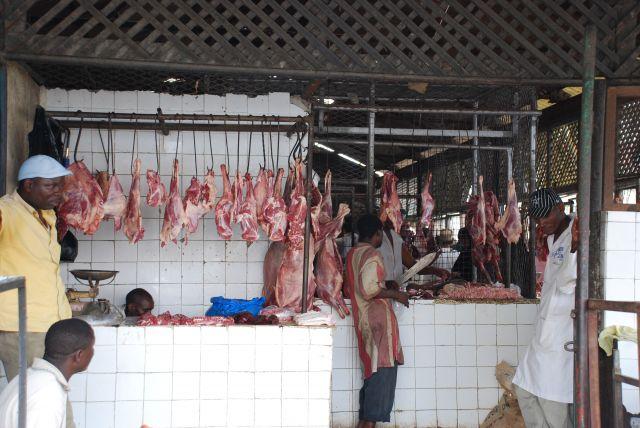 Zdjęcia: MOMBASA TARGOWISKO, ZAKŁADY MIĘSNE, KENIA