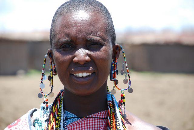 Zdj�cia: WIOSKA MASAJ�W, Masai Mara, Masajka, KENIA