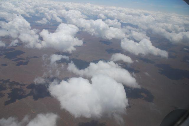Zdjęcia: widok z samolotu, Masai Mara, Chmury nad Masai Mara, KENIA