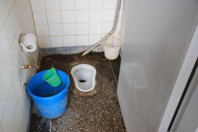 Zdjęcia: Mombasa, Mombasa, Toaleta Fort Jesus  Mombasa, KENIA
