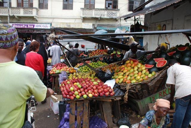 Zdjęcia: Mombasa, Wybrzeże, Targowisko w Mombasie, KENIA
