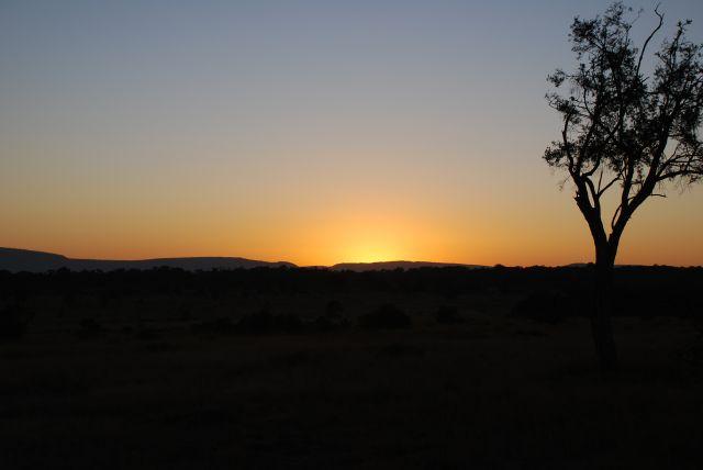 Zdjęcia: SAFARI MASAI MARA, MASAI MARA, Wschód słońca 4, KENIA