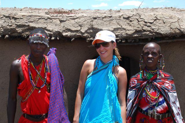 Zdjęcia: SAFARI MASAI MARA, Wioska Masajów, ...., KENIA