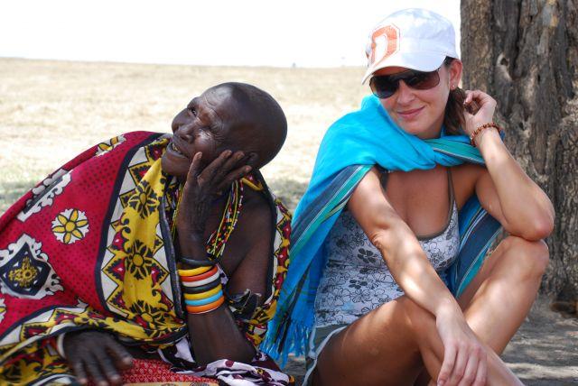 Zdjęcia: SAFARI MASAI MARA, Wioska Masajów, Masai Mama.........., KENIA