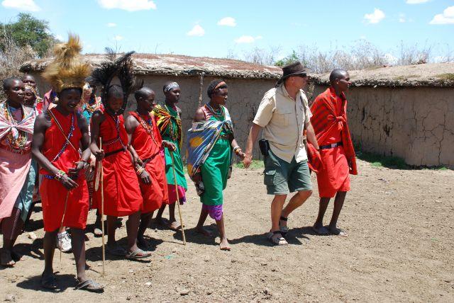 Zdjęcia: SAFARI, Masai Mara, Wioska Masajów, KENIA
