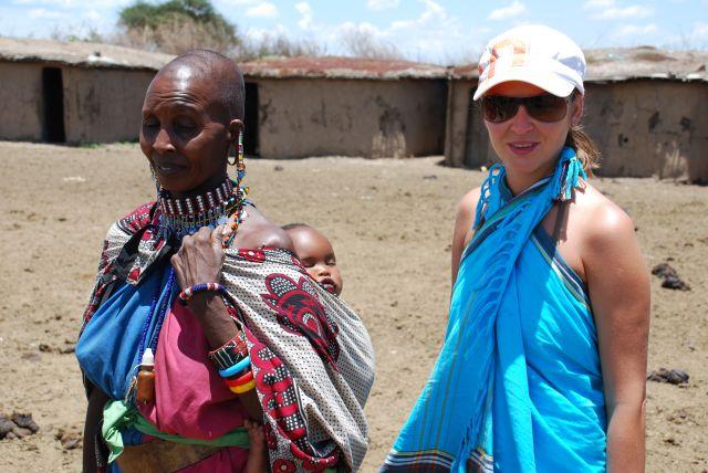 Zdj�cia: SAFARI wioska Masaj�w, Masai Mara , Wioska Masaj�w, KENIA