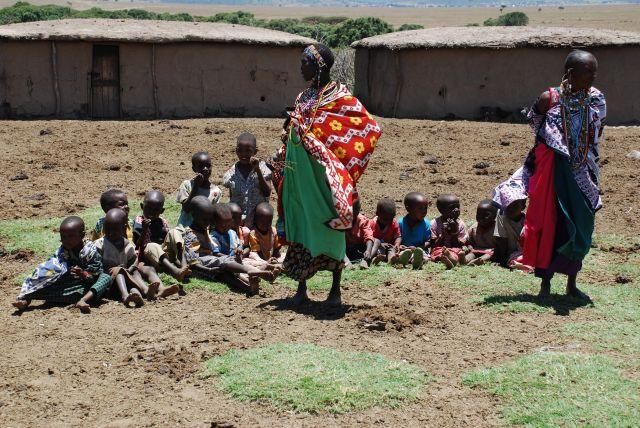 Zdjęcia: SAFARI wioska Masajów, Masai Mara, Wioska Masajów, KENIA