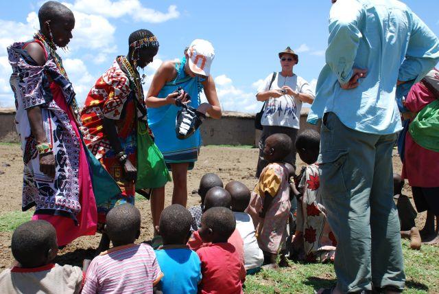 Zdjęcia: SAFARI wioska Masajów, Masai Mara, ........, KENIA